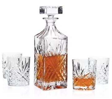 Godinger Dublin 5-piece whiskey set for $21