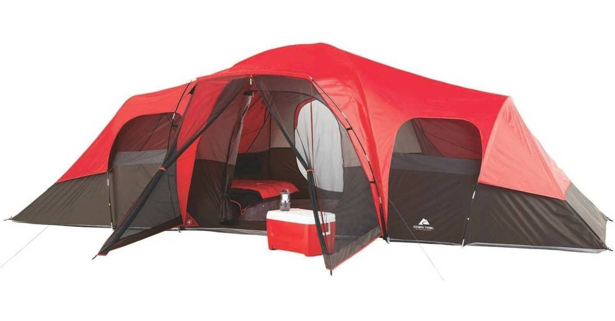 Ozark Trail 10-person family camping tent for $75