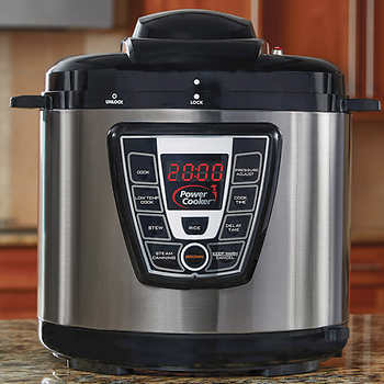 Power Cooker 8-quart 9-in-1 pressure cooker for $40
