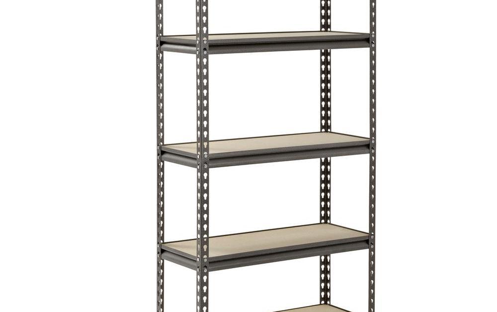 Muscle Rack 60 in. H x 30 in. W x 12 in. D 5 steel shelf for $35