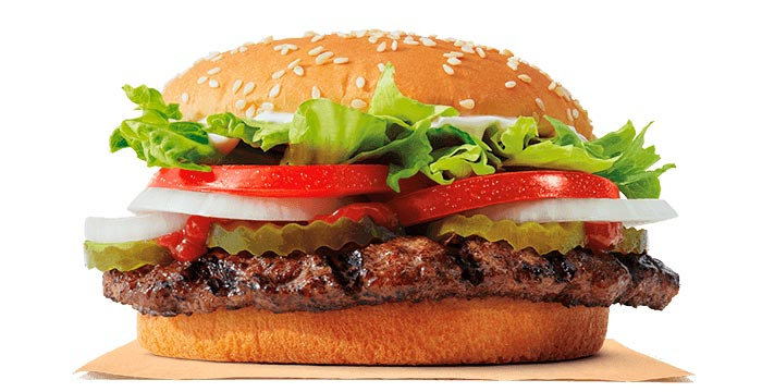 Burger King: Buy one Whopper, get one FREE