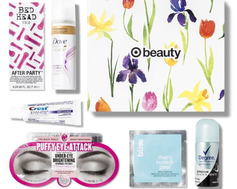 Target's beauty box includes skincare and makeup from $3.50!