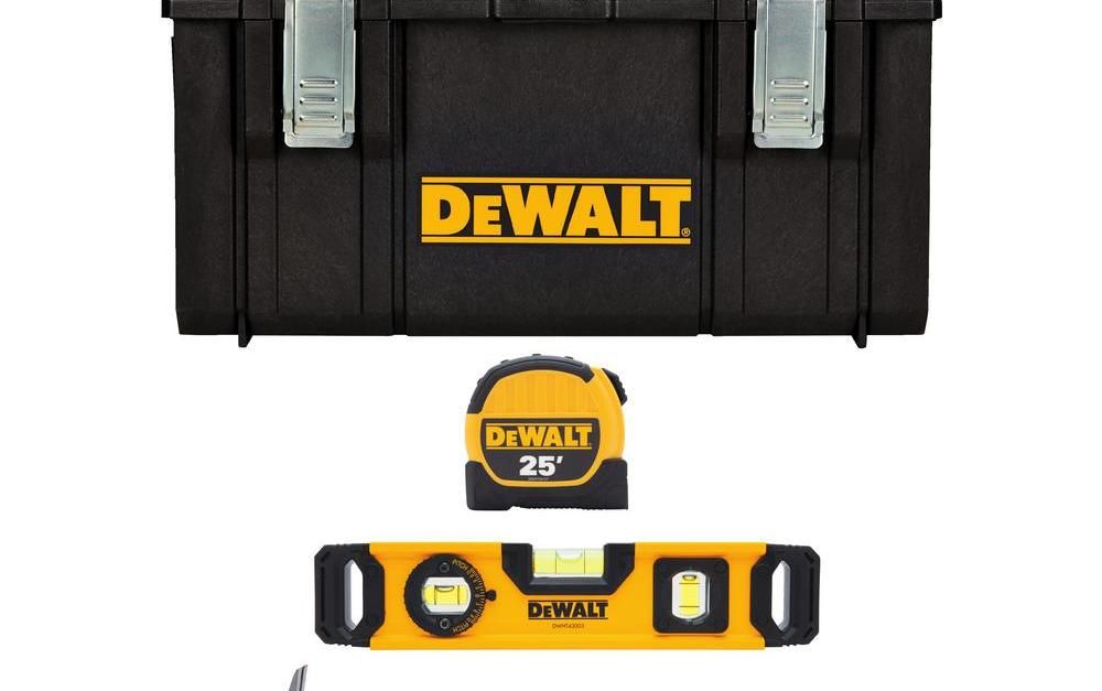 Today only: Dewalt tool sets from $25 at The Home Depot