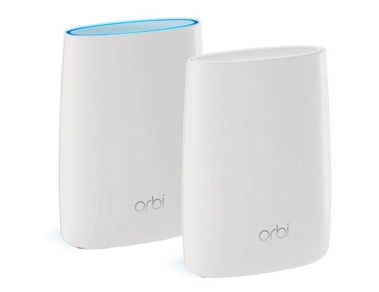 Today only: Refurbished Netgear Orbi mesh Wi-Fi system 2-pk for $180