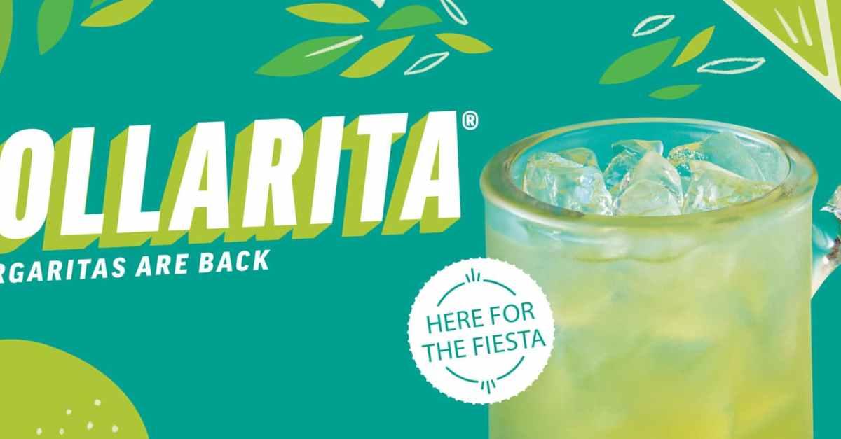 Enjoy $1 margaritas all month long at Applebee's!