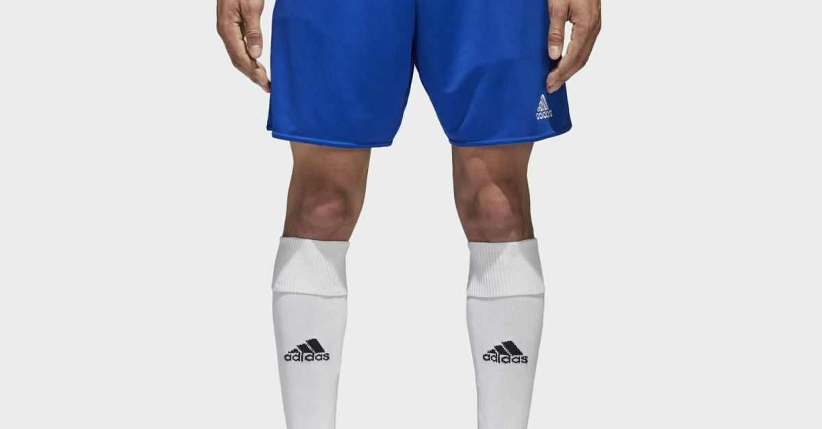 3-pack Adidas men's Parma shorts for $15, free shipping