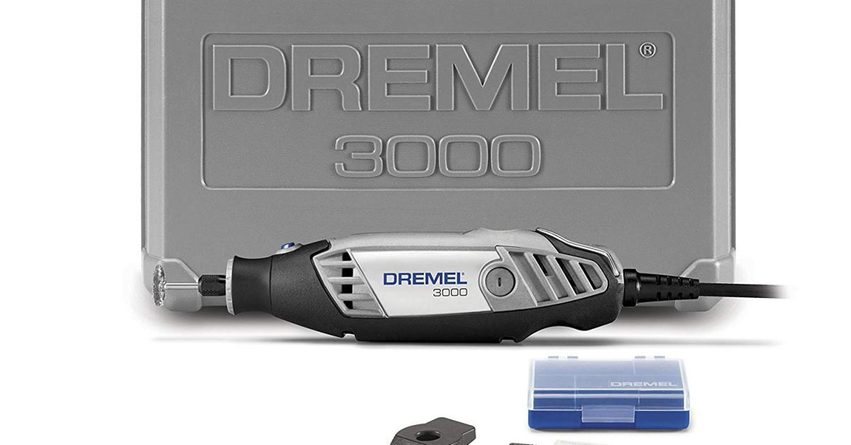 Today only: Dremel 3000 rotary tool with accessories for $45
