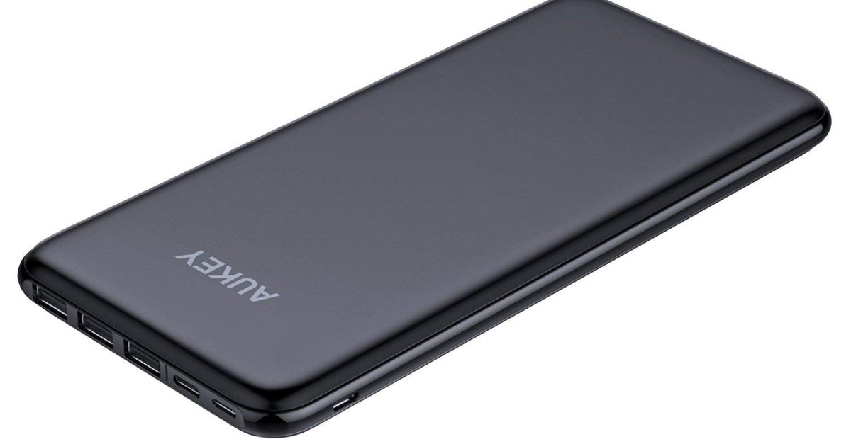 Aukey 20000mAh slim power bank for $28