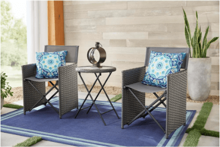 Today only: Patio furniture from $120 at The Home Depot
