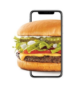 Ends soon! Get a FREE cheeseburger at Sonic through Apple Pay