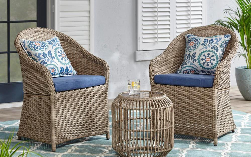 Today only: Patio furniture from $32 at The Home Depot