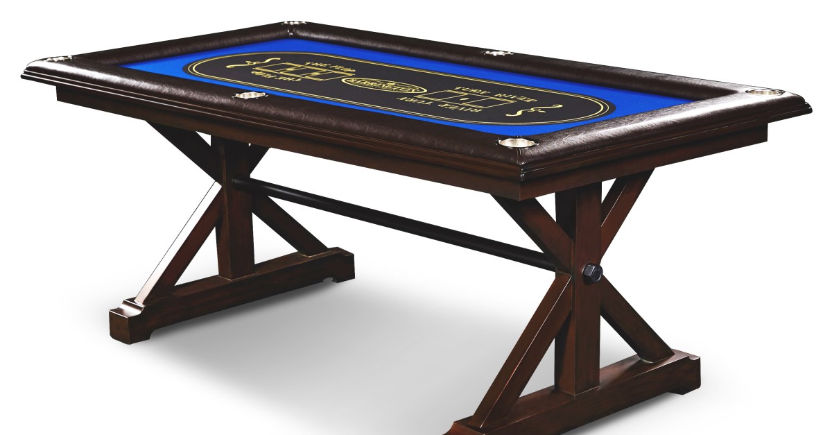 Barrington premium solid wood game table for $135, free shipping