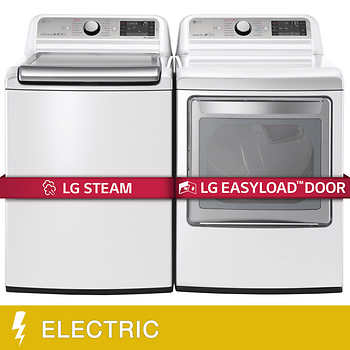 Save $600 on the LG Mega Capacity washer & TurboSteam dryer at Costco