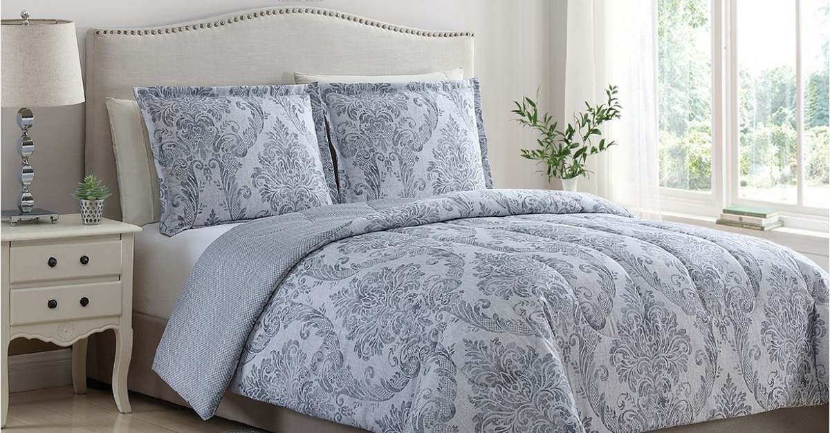 Any-size 3-piece comforter set for $20 at Macy's, free store pickup