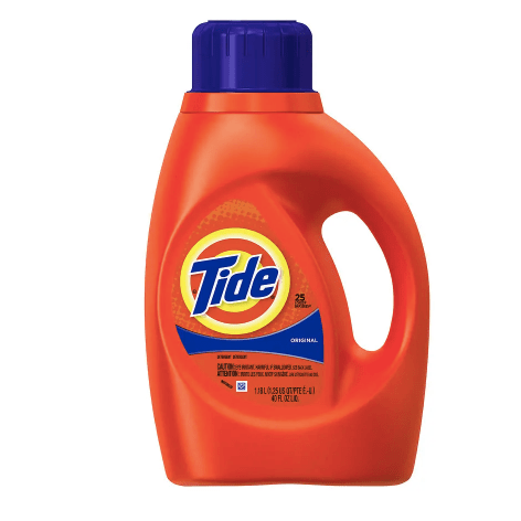 Tide 40-oz liquid laundry detergent from $3