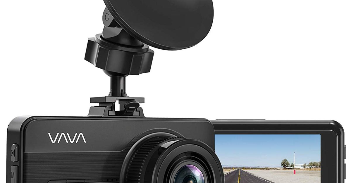 Today only for Prime members: VAVA 1080P Full HD Car DVR dash cam for $32