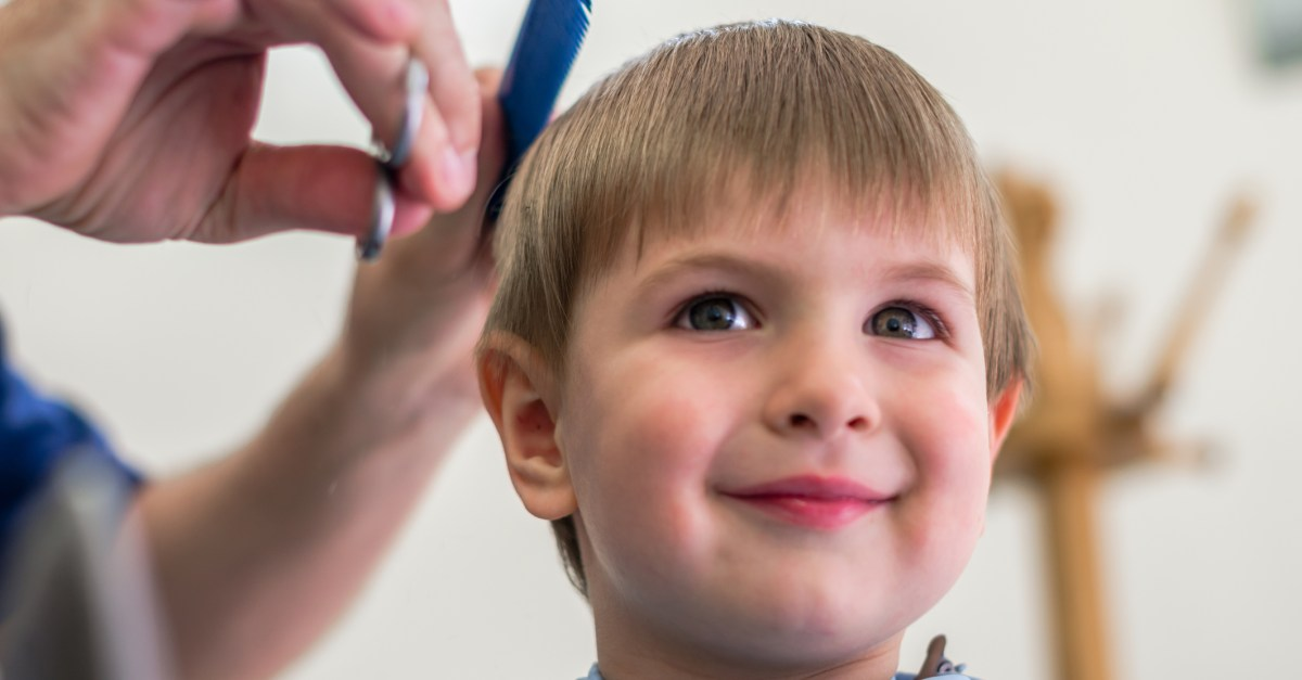 Kids haircuts for $10 at the JCPenney salon