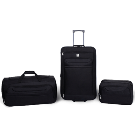 Protege 3-piece luggage travel set for $29