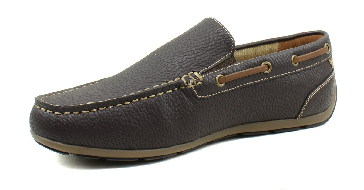 GBX men's Ludlam casual moc-toe slip-on loafers for $14, free shipping