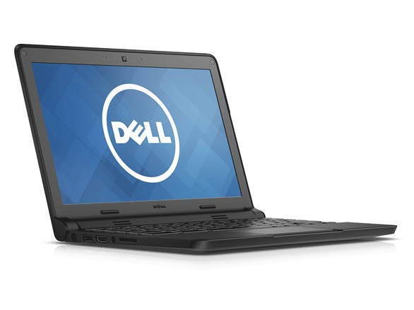 Today only: Refurbished 11.6″ Dell 4GB Chromebook for $79