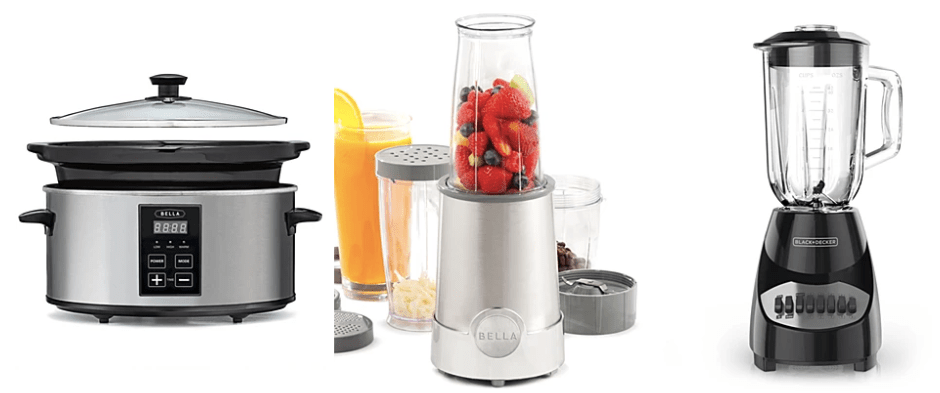 Small appliances for $9 after rebate at Macy's