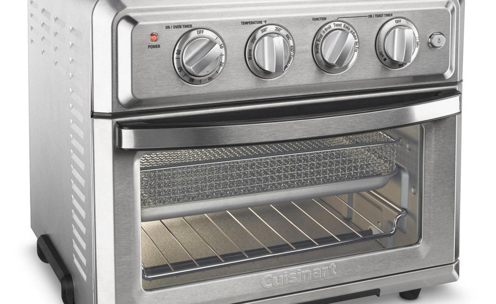 Cuisinart 1800W stainless steel air fryer convection oven for $137