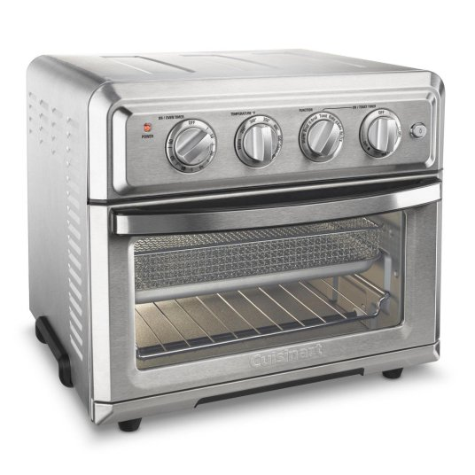 Refurbished Cuisinart stainless steel air fryer convection oven for $80