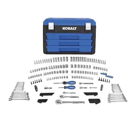 227-piece Kobalt mechanic's tool set for $99