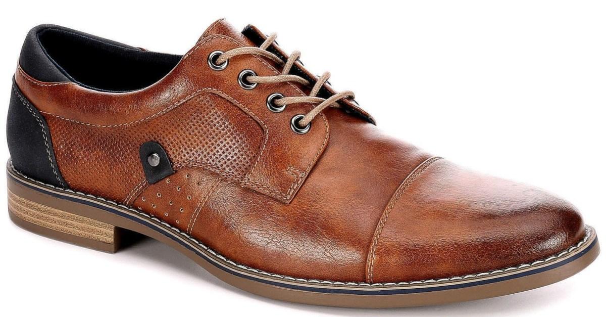 Restoration men's lace up Oxford shoes for $19