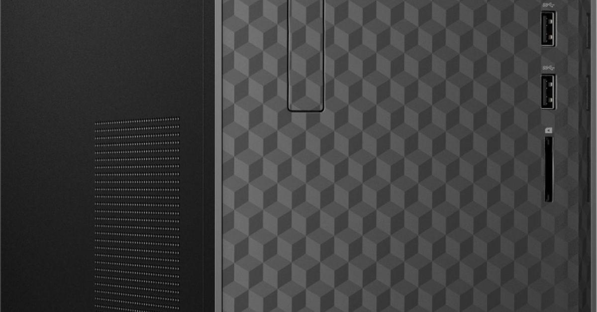 HP AMD Ryzen 5-Series 12GB memory 256GB SSD desktop computer for $400
