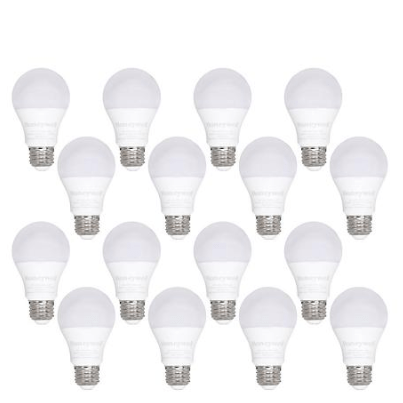 Today only: 16-pack Honeywell 800 Lumen A19 LED light bulbs from $17