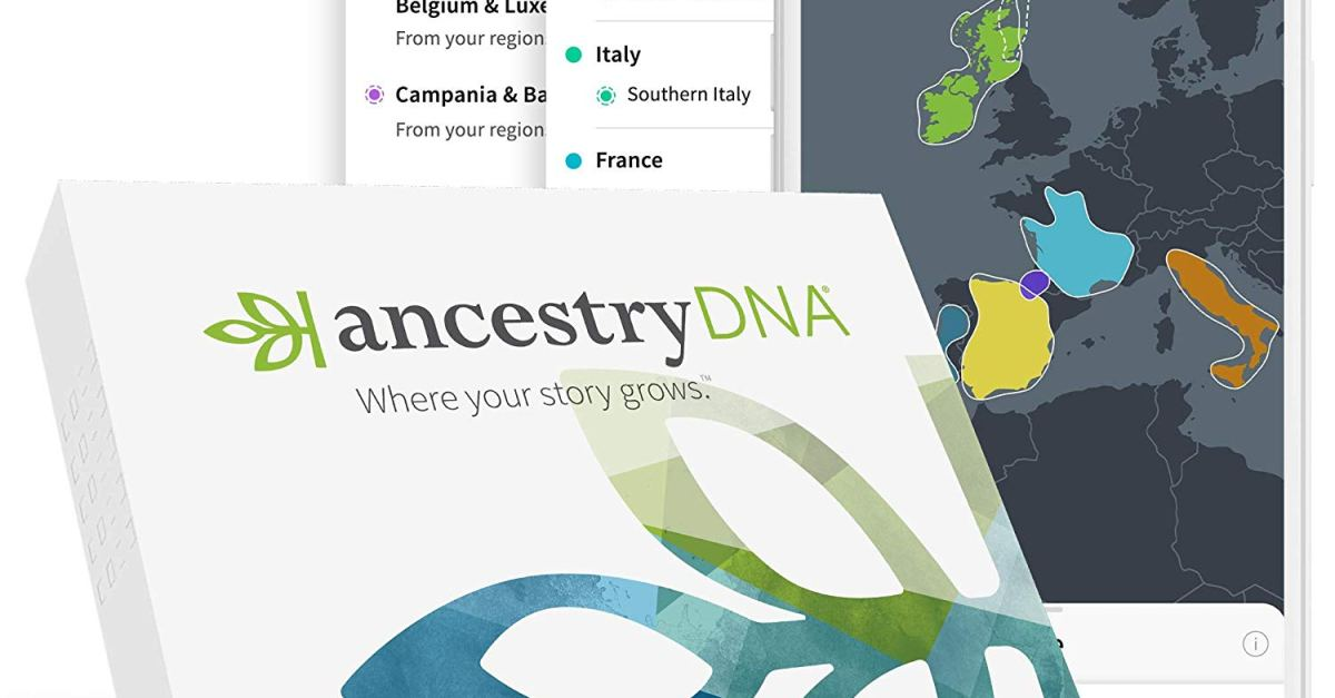 AncestryDNA test discounted to $49