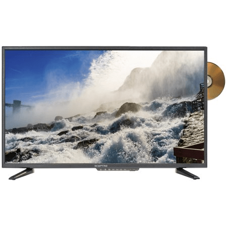 Sceptre 32″ HD TV with build-in DVD player for $105