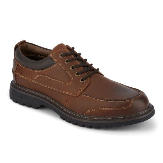 Dockers men's Overton leather lace-up Oxford shoes for $40, free shipping