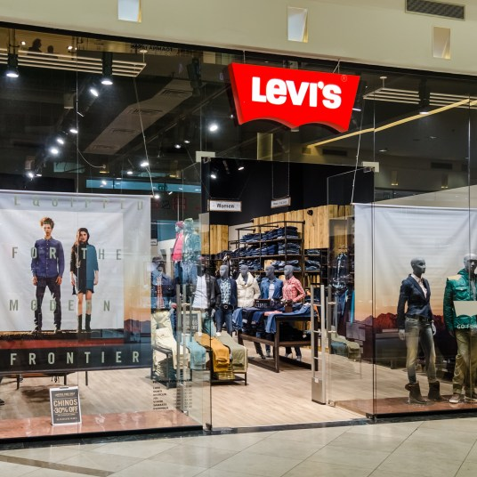 Save up to 75% during Levi's Warehouse Sale