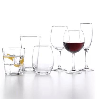 12-piece Martha Stewart glassware sets for $12, free shipping