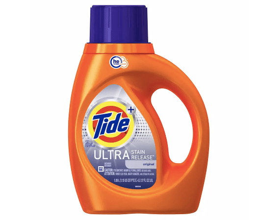 Tide liquid laundry detergent from $3