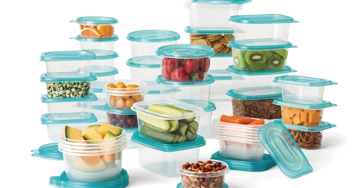 Mainstays 92-piece food storage set for $10