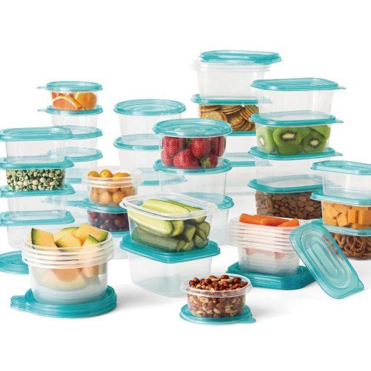Mainstays 92-piece food storage set for $10