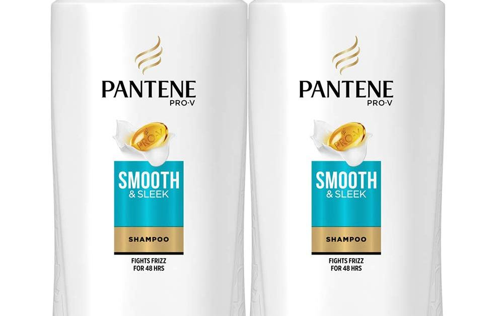 2-pack Pantene Pro V Smooth & Sleek shampoo for $8