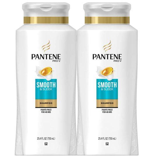 2-pack Pantene Pro V Smooth & Sleek shampoo for $8