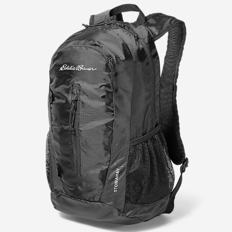 20L Eddie Bauer stowaway packable daypack for $15, free shipping