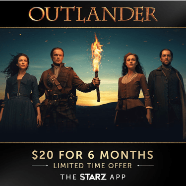 Stream Starz for as low as $3.33 per month