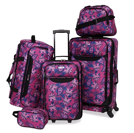 Tag Springfield III 5-piece luggage set for $70