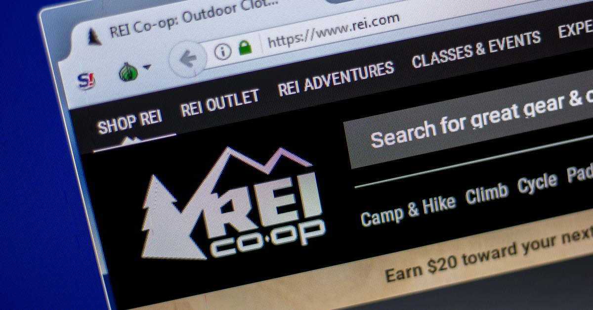 Ends today! $20 gift card covers lifetime REI co-op membership with $50 purchase