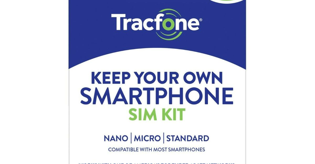 Tracfone 1-year prepaid smartphone plan for $30