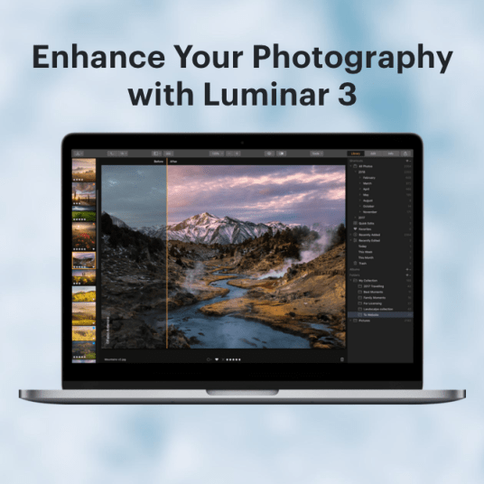 Luminar 3 professional photo editing software for FREE