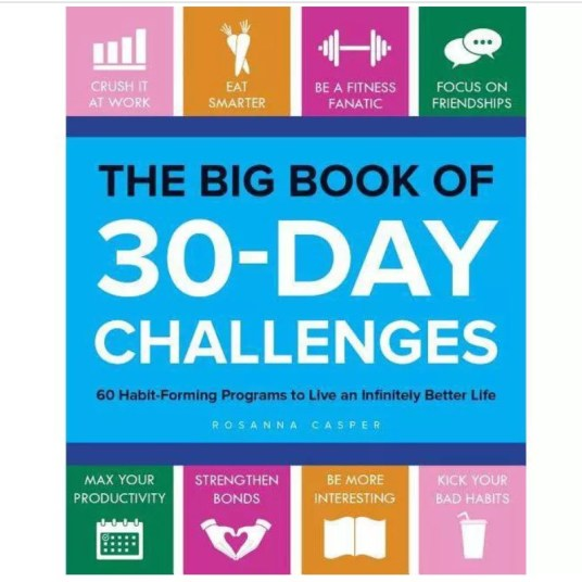 The Big Book of 30-day Challenges for $11