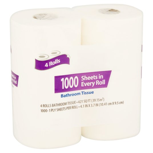 Great Value 1000 sheets bath tissue for $3 in select locations