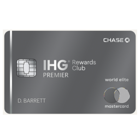 Get up to 4 hotel stays with the IHG Rewards Club Premier Credit Card